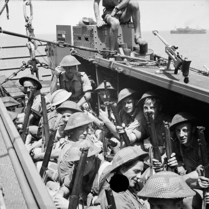 The invasion of sicily 1943 na4502